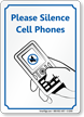 Please Silence Cell Phones Sign