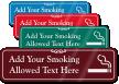 Smoking Allowed Symbol Sign