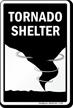 Tornado Shelter - Tornado Shelter Sign