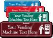 Vending Machine Symbol Sign