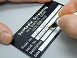 Aluminum Foil Nameplates
