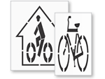 Bike Stencils