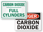 Carbon Dioxide Signs