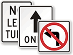 Parking Lot Directional Signs