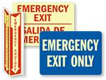 Emergency Glow-in-the-Dark Signs