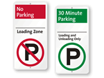 Loading Zone iParking Signs