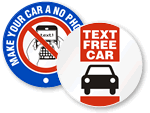 Distracted Driving Signs & Stickers