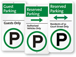 Reserved iParkingSigns