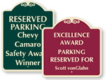SignatureSigns™ for Awards