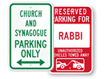 Synagogue Signs