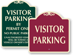 Visitor Parking Signs - SignatureSigns™
