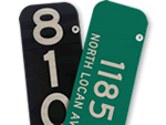 Custom 911 Address Signs