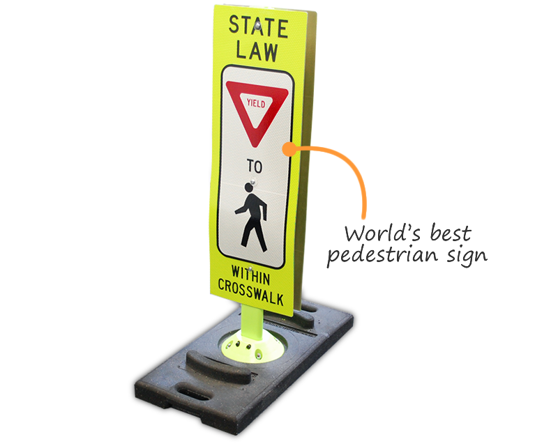 World's Best Pedestrian Signs