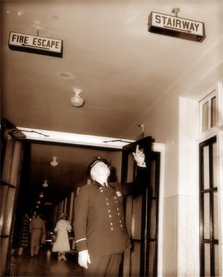 Exit Stairway 1952