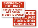 Alarm Will Sound Signs