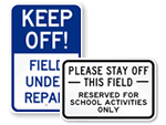 Athletic Field Signs