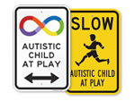 Autistic Child At Play Signs