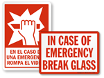 Break Glass in Case of Emergency