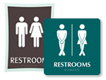 Unisex Restroom Signs