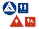 All California Bathroom Sign Kits