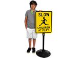 Children at Play Signs