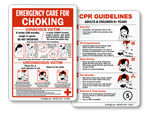 Choking & CPR Signs