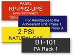 Control Panel Plates