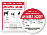 Custom Pet Rescue Stickers
