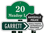 Custom Shaped Metal Signs