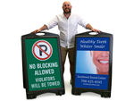 Custom Sidewalk Signs