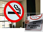 No Smoking Glass Decals