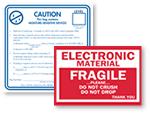 Electronic Equipment Labels