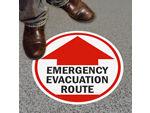 Emergency Floor Signs