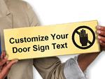 Custom Select-a-Color™ Semi-Printed Sign