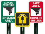 Evacuation Assembly Point Signs