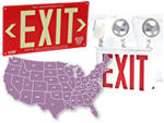 Exit Signs by State