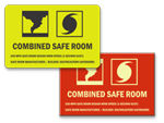 FEMA Safe Room Signs