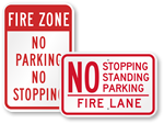 Fire Lane – No Stopping