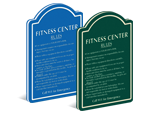 Fitness Center Signs