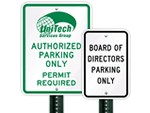 Custom Vertical Signs