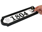 Make Your Own Address Sign
