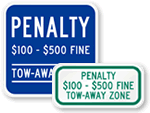 More Supplemental Fine Signs