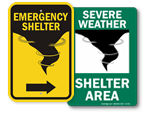 More Shelter Signs
