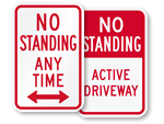 No Standing Any Time