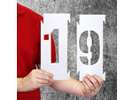 Number & Letter Stencil Kits