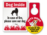Pet Inside Stickers