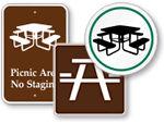 Picnic Area Signs
