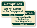 Rustic Pine Crest™ Signs