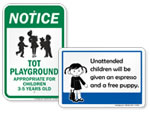 Pictograms Rules Signs