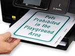 Free Playground Signs